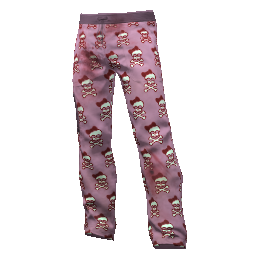Happy Skull Scrubs Pants