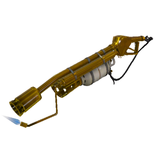 Strange Australium Flame Thrower